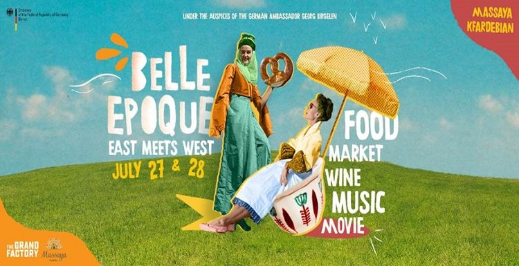 Belle Epoque Festival in Massaya  July 27-28.2019