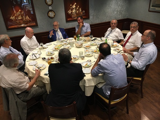 Reception and Lunch with H. E. Mr . Andreas Kindl   Ambassador of German Federal Republic on Lebanon and  LGBC Board at Phoenician Hotel - on 04-August- 2020