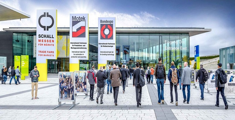 Motek , International trade fair  for automation in production and assembly,  Stuttgart From 07.10-10.10.2019.