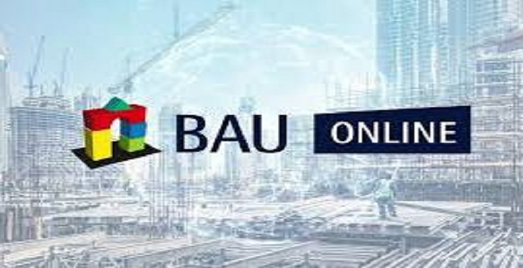BAU *digital event * Trade Fairs for architecture , materials and systems . From 13.01-15.01.2021 Germany